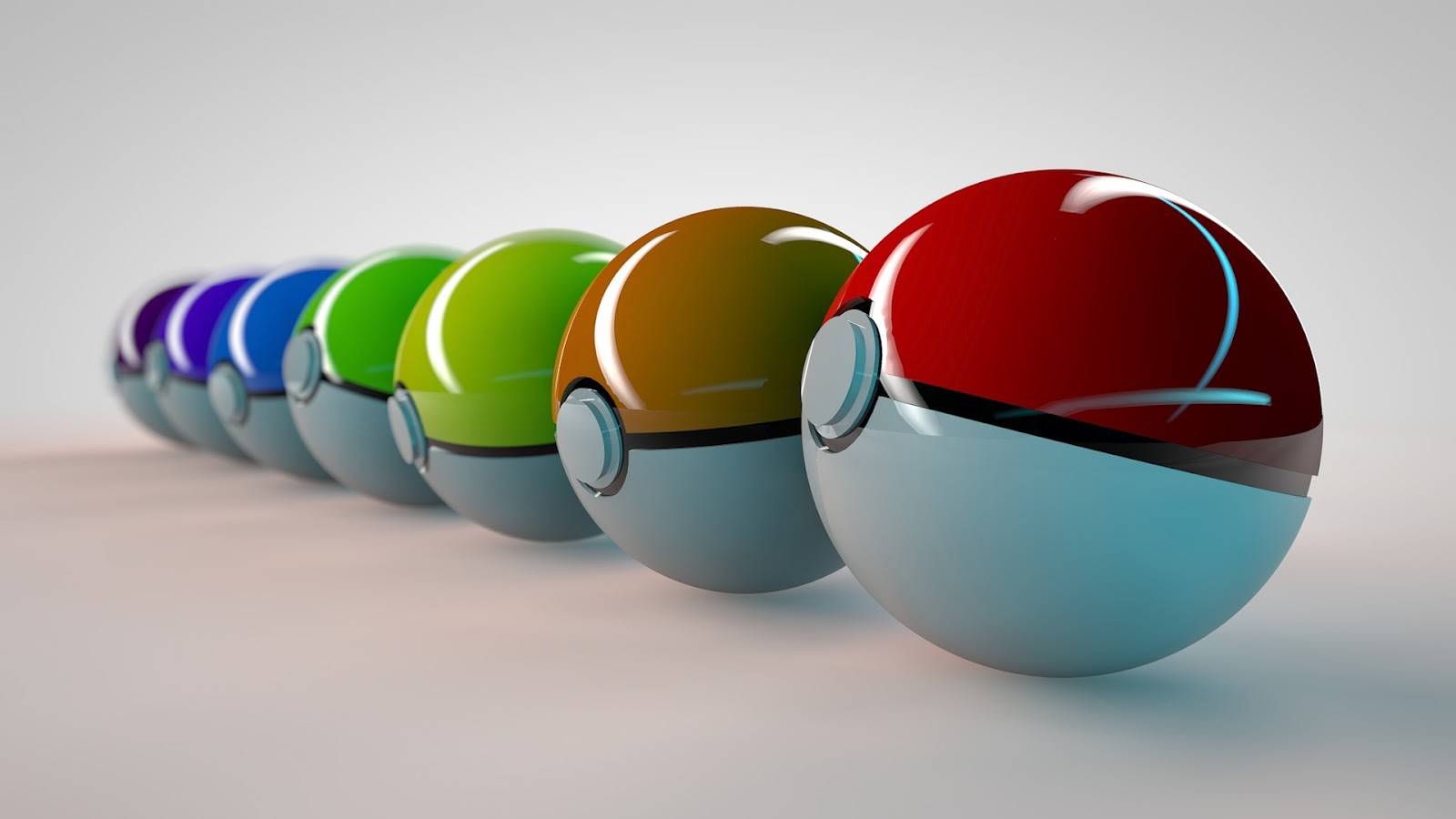 3d balls abstract