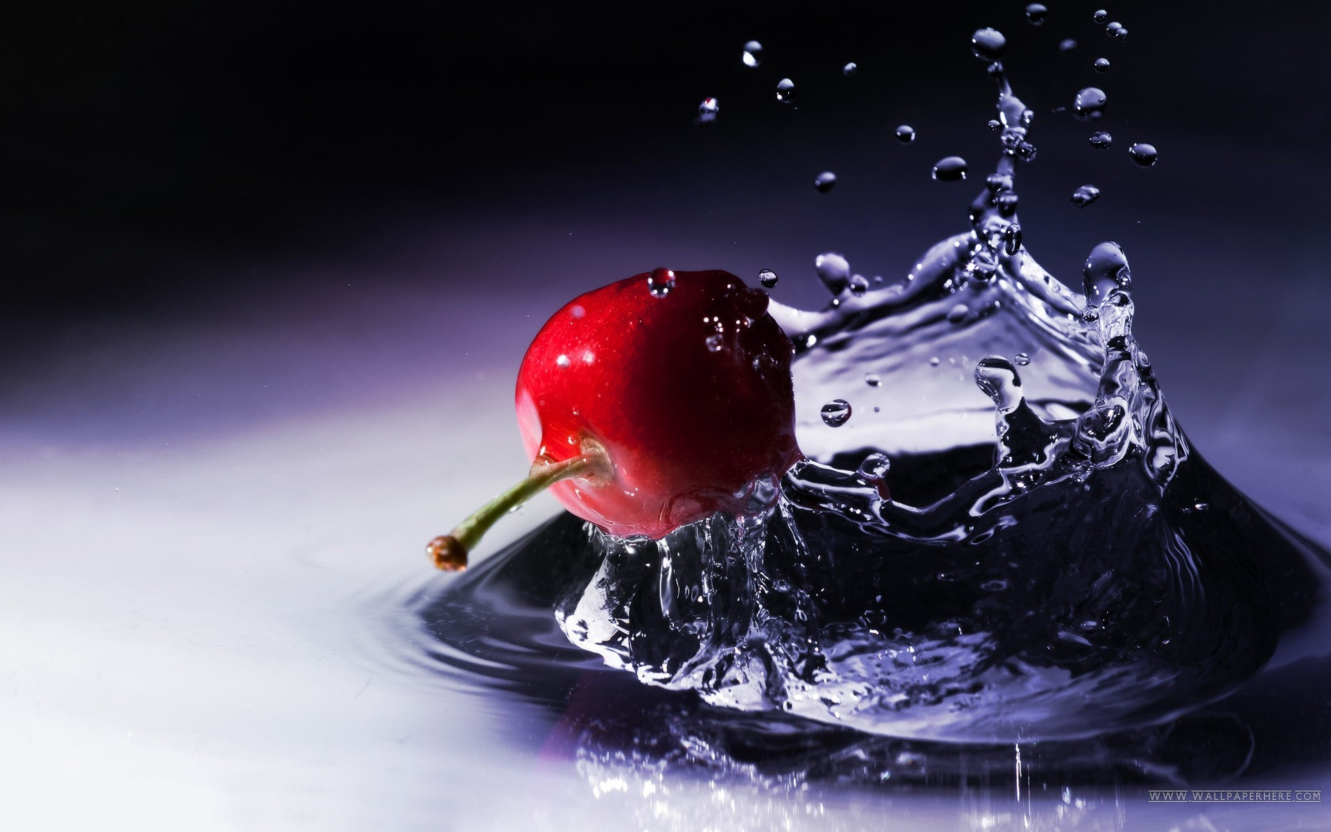 3d Fruit Water Splash