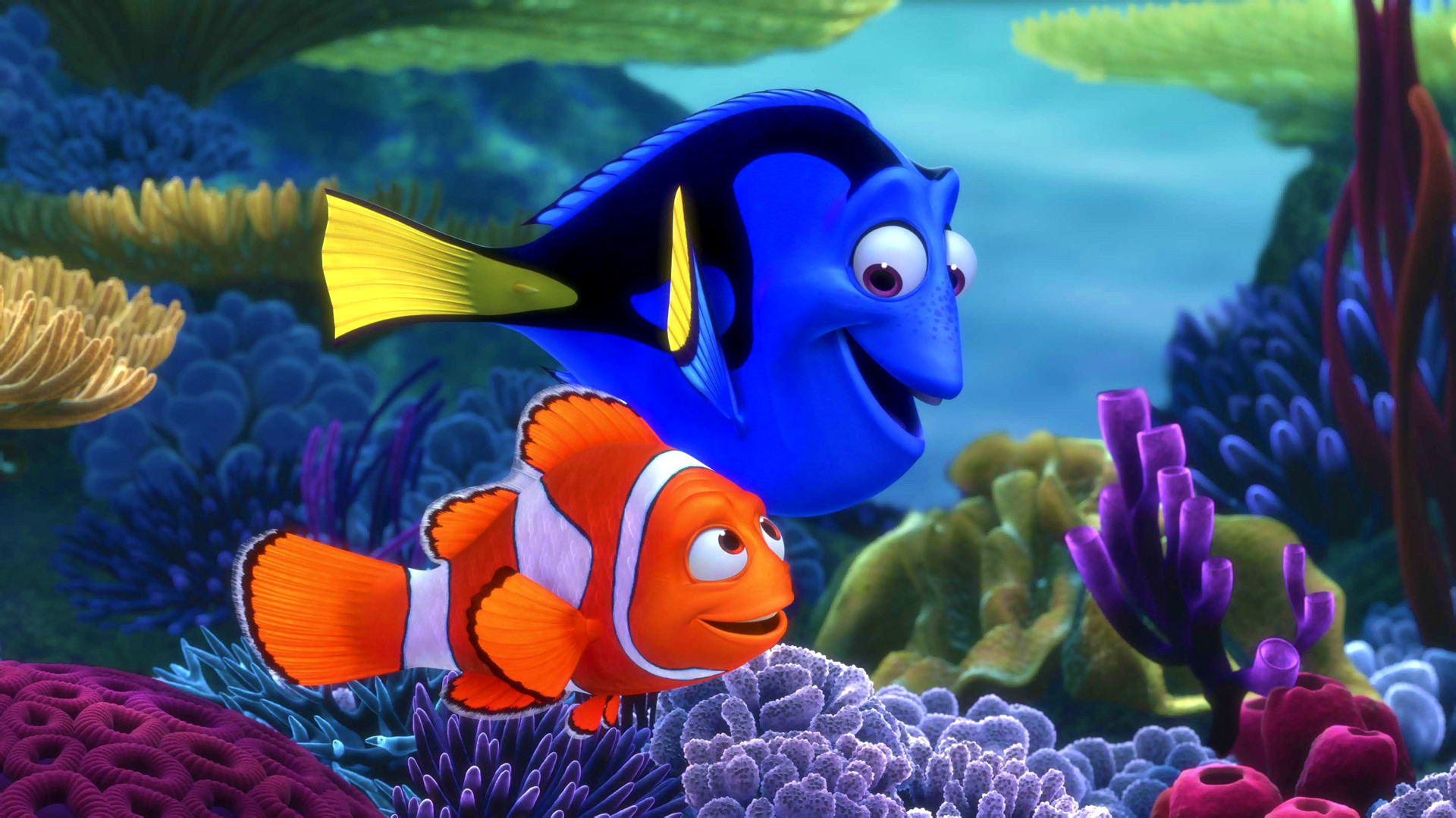 3d Finding Nemo Fish Under Sea