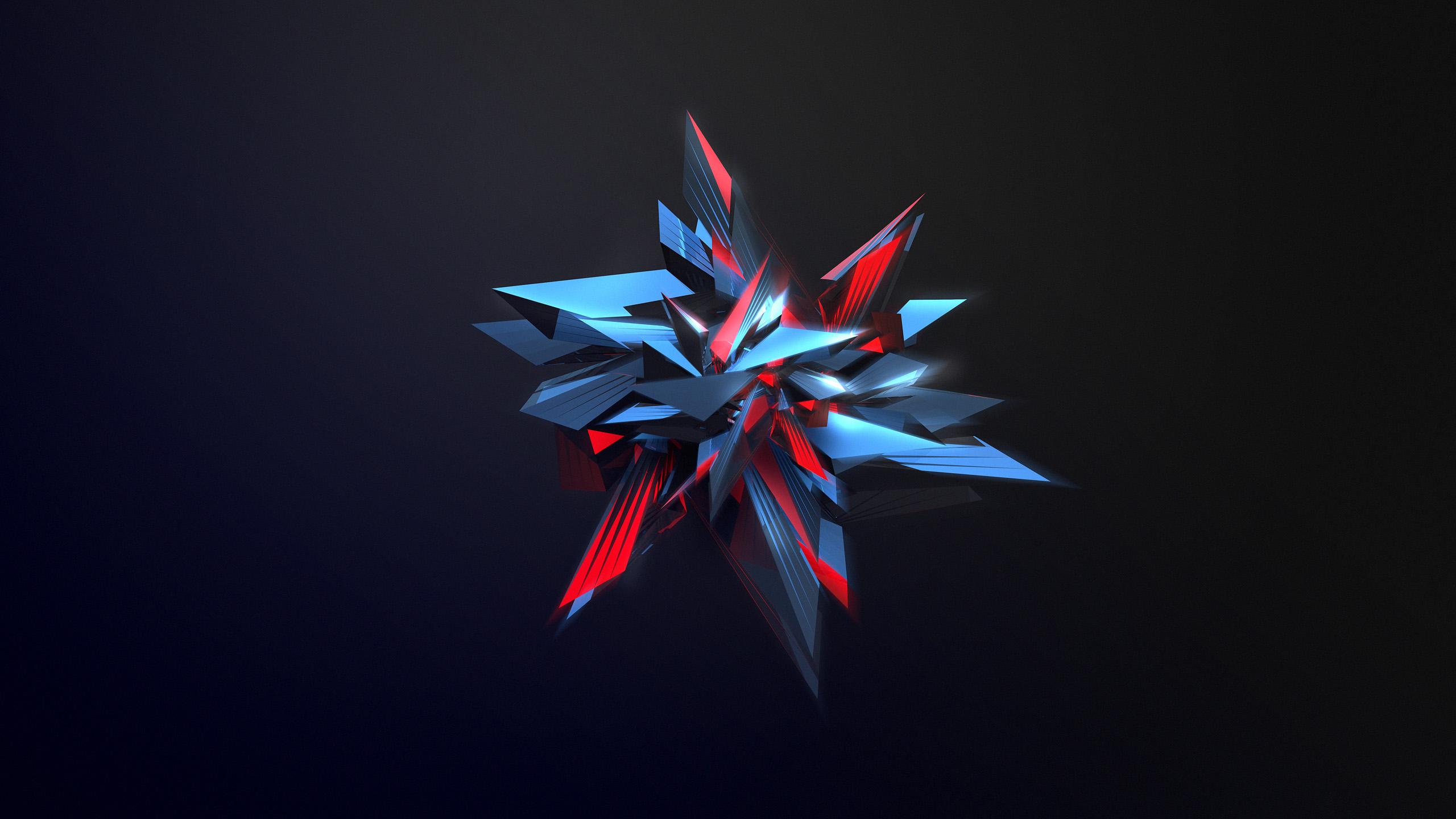 4k abstract star design