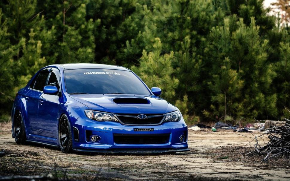 Subaru Impreza Wrx Sti Car