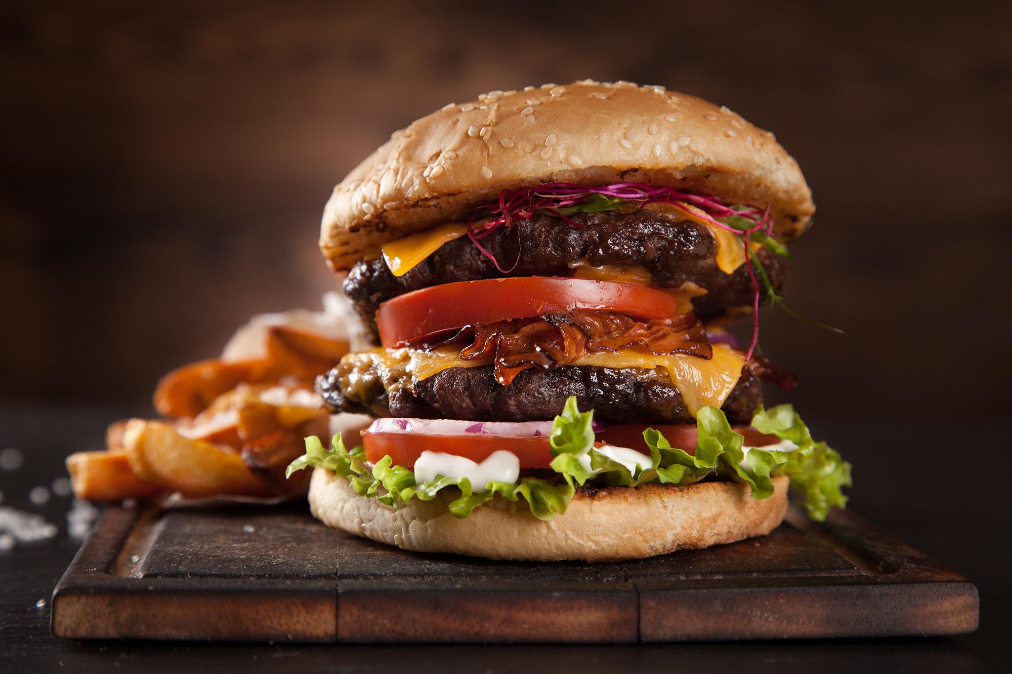 dubble non veg burger