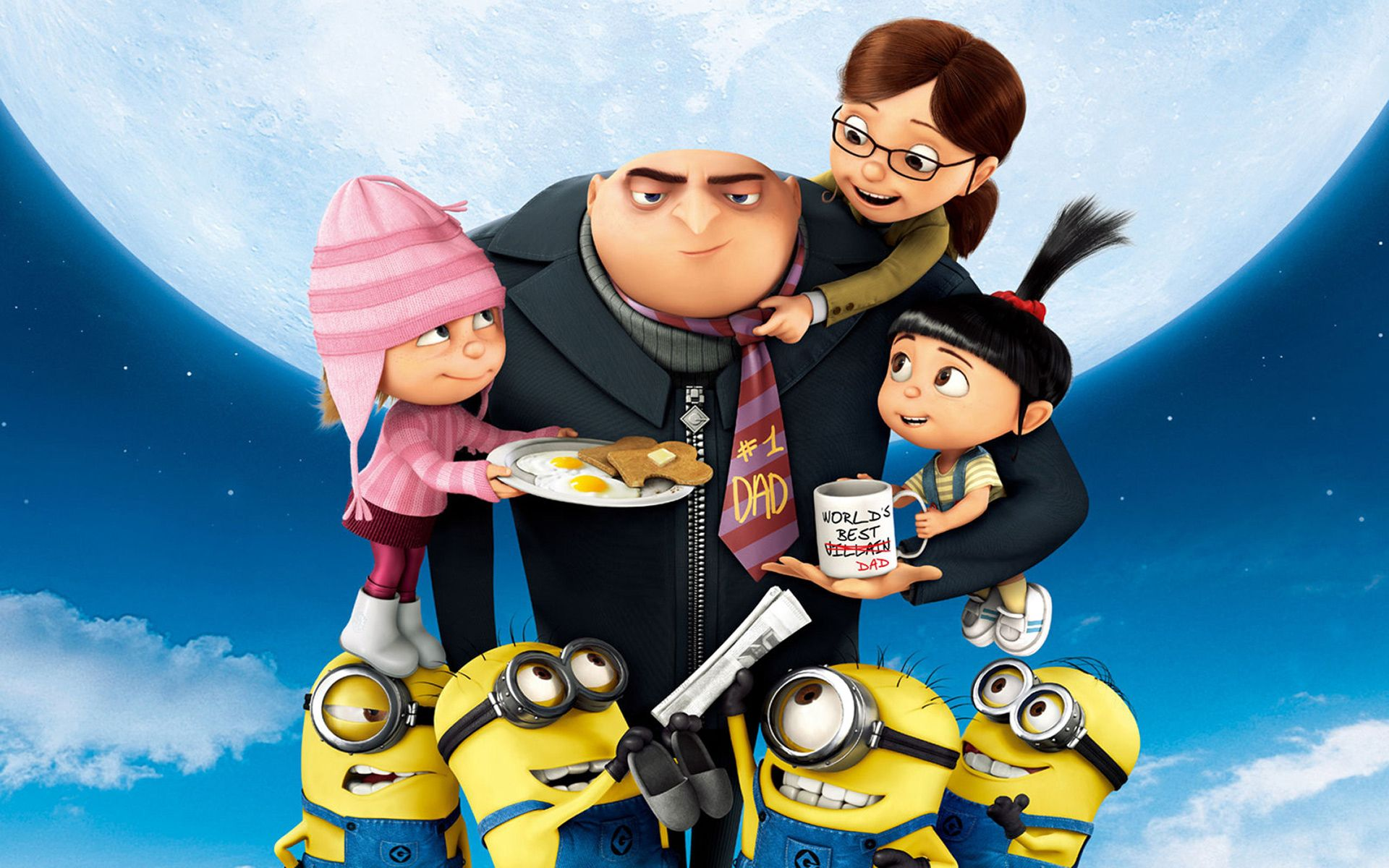 Despicable Me 2 Worlds Best Dad
