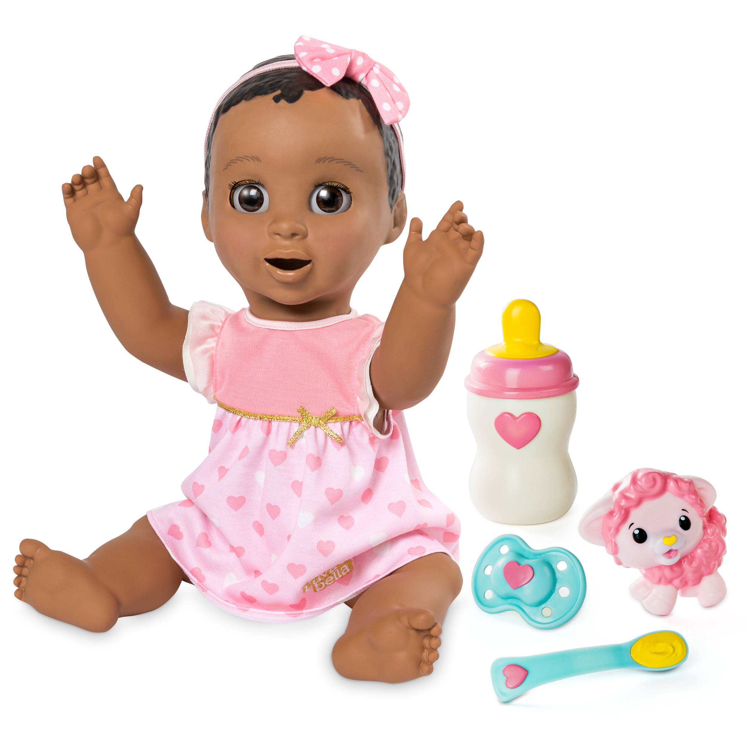 Luvabella Responsive Baby Doll Dark Brown Hair
