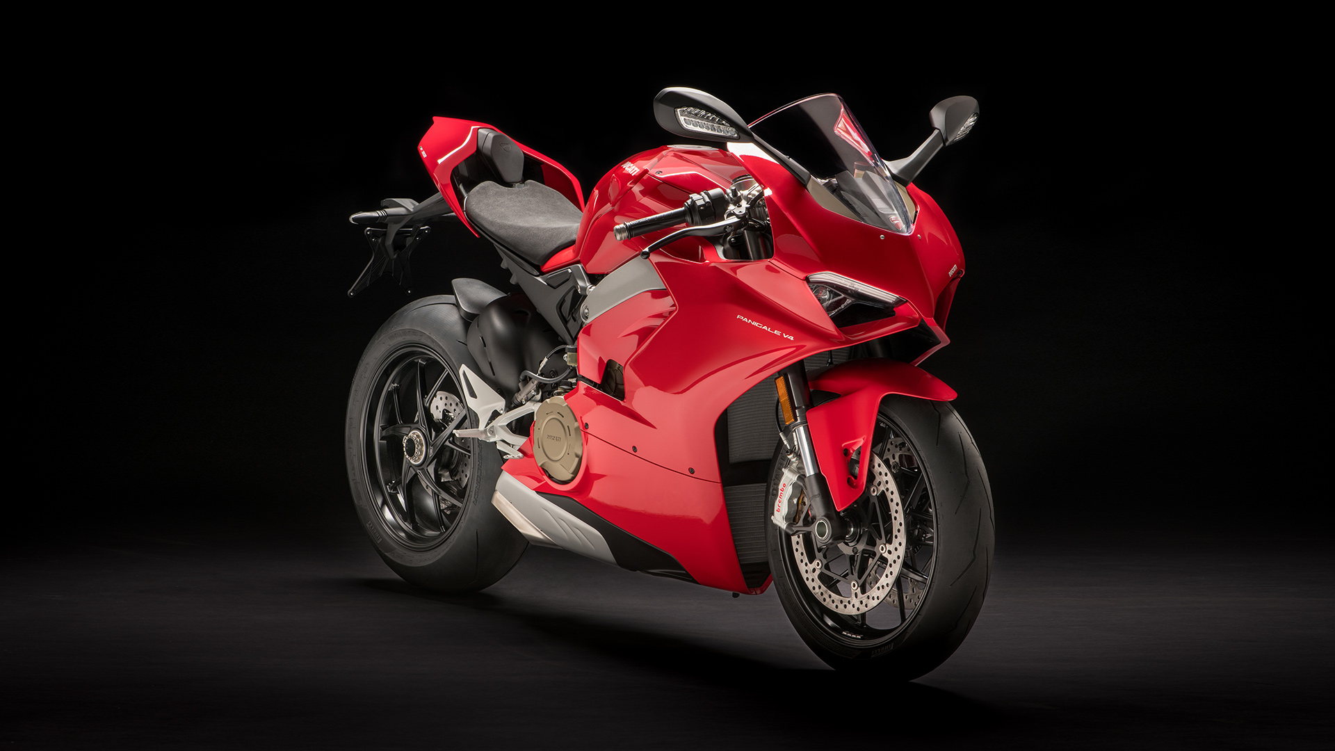Ducati Panigale V4 Red Color