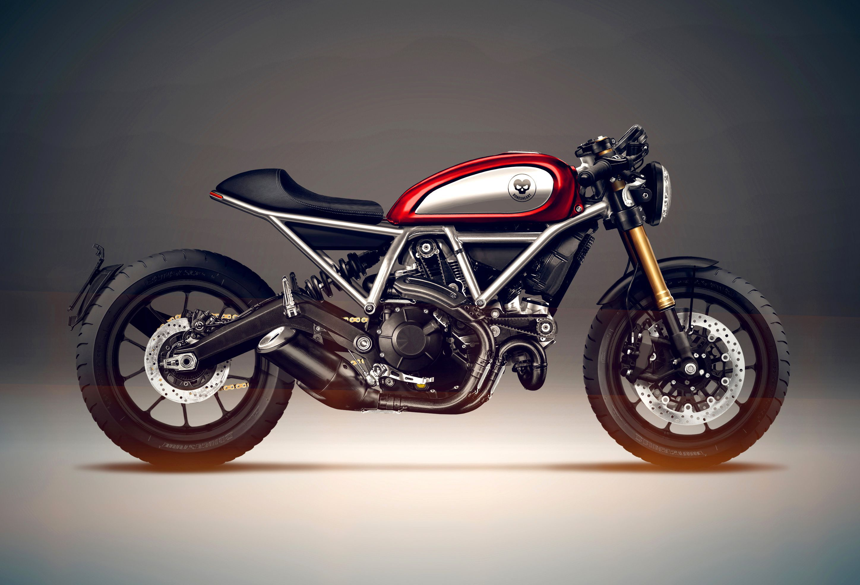 Ducati Scrambler Side View