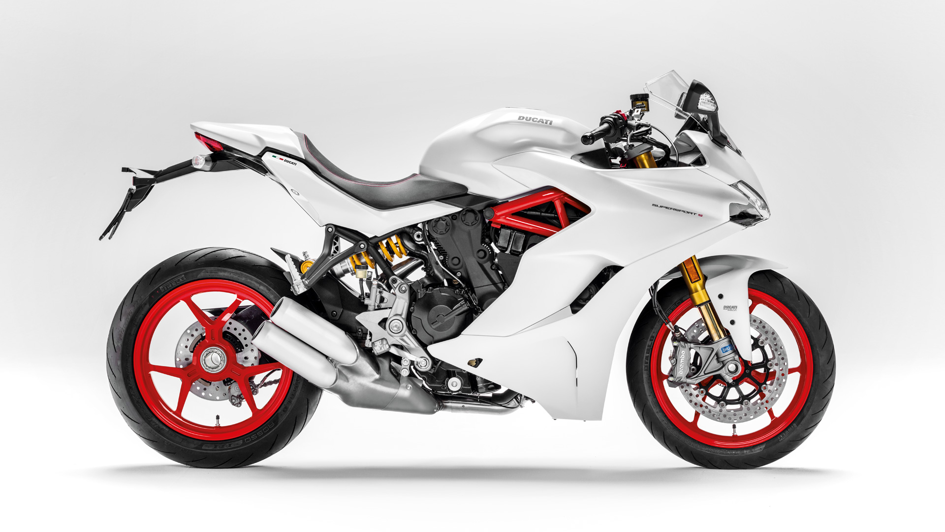 ducati supersport white color
