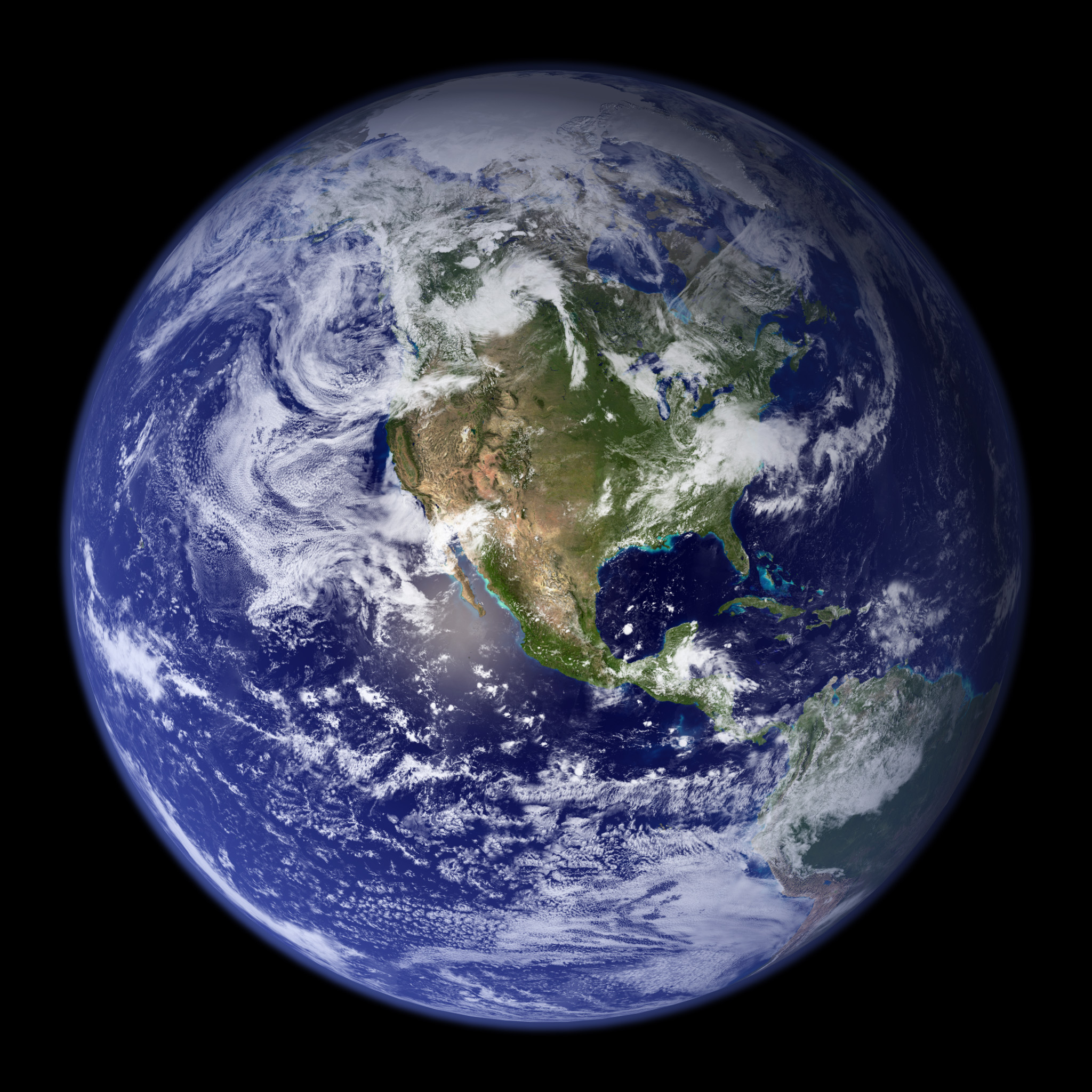 earth full view from satellite