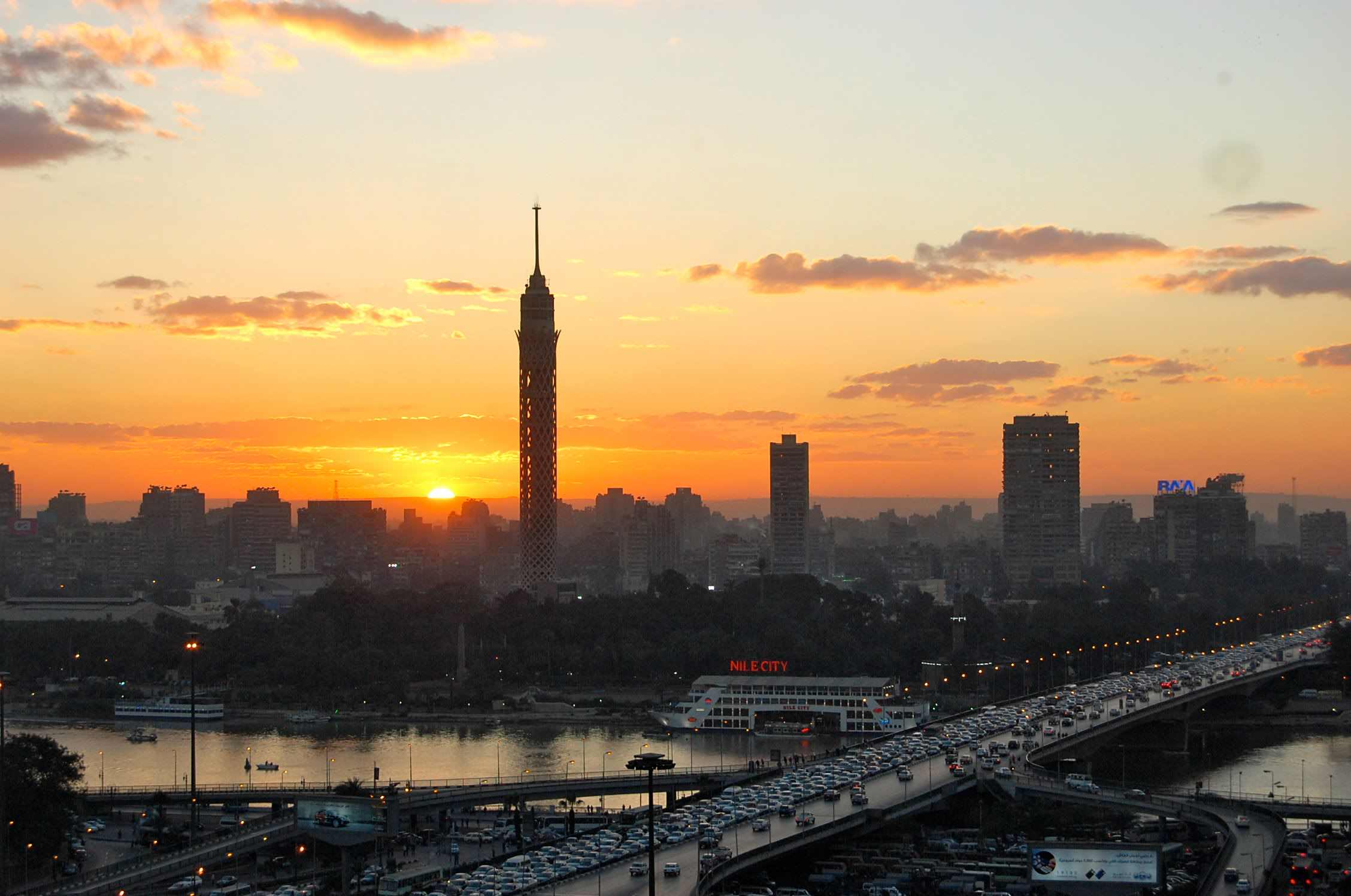 cairo tower egypt