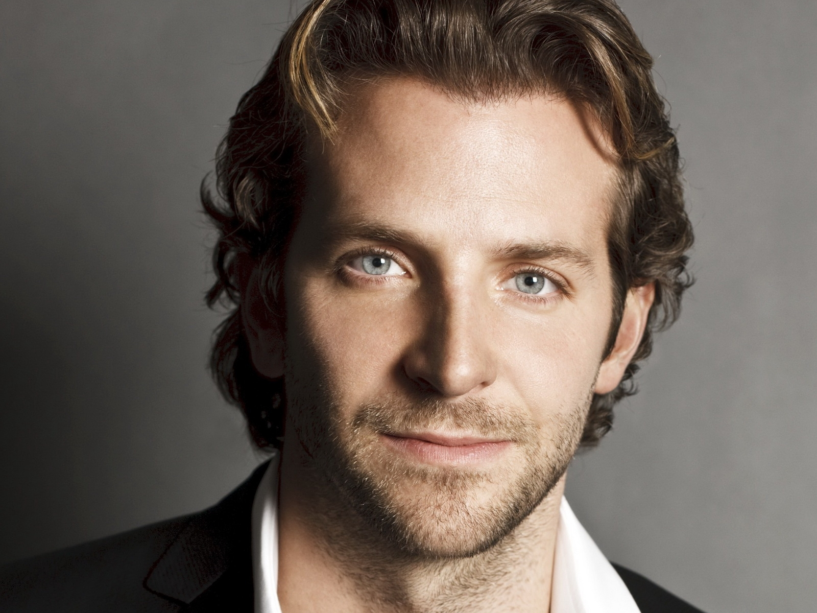 bradley cooper face long haired actor male