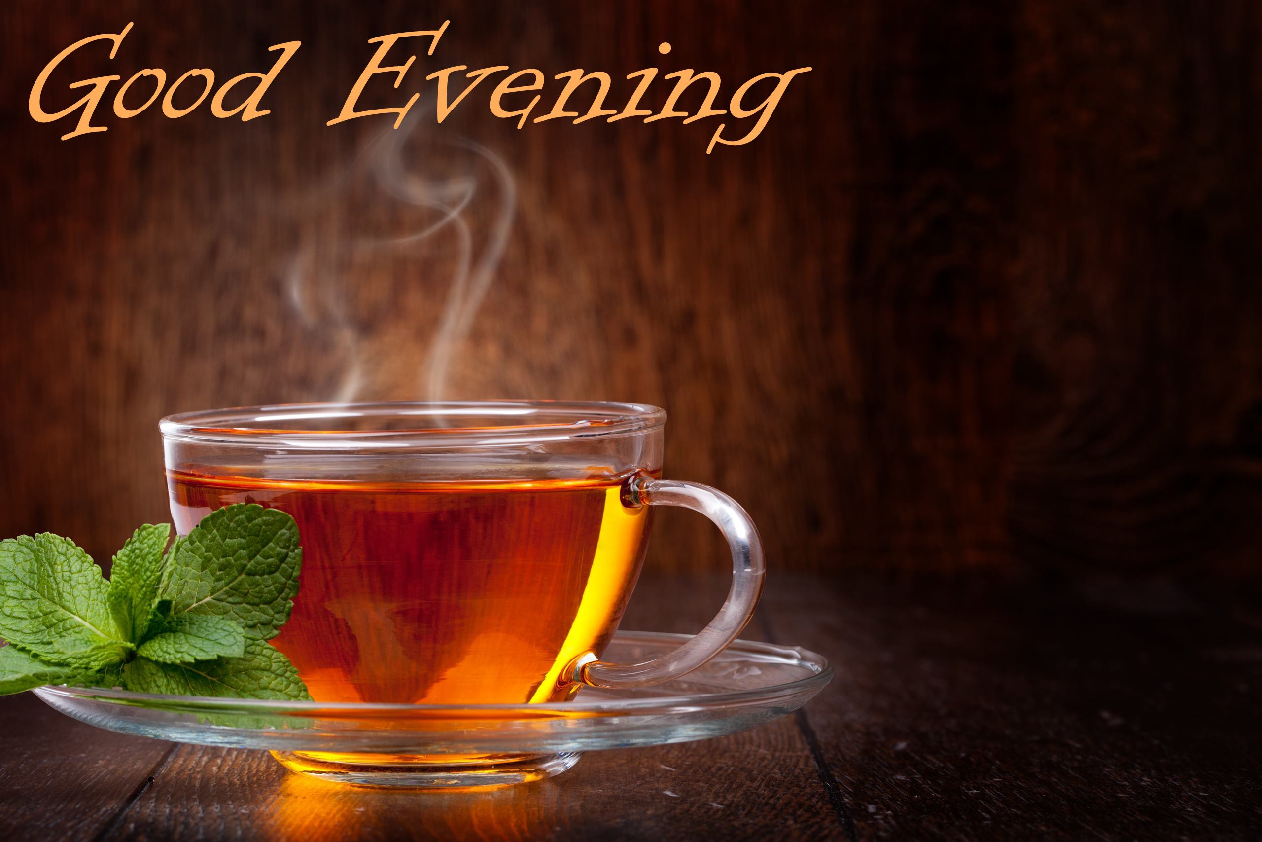 Good Evening With Green Tea