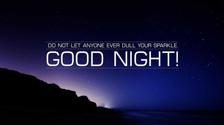 Good Night Wishes Sky Stars