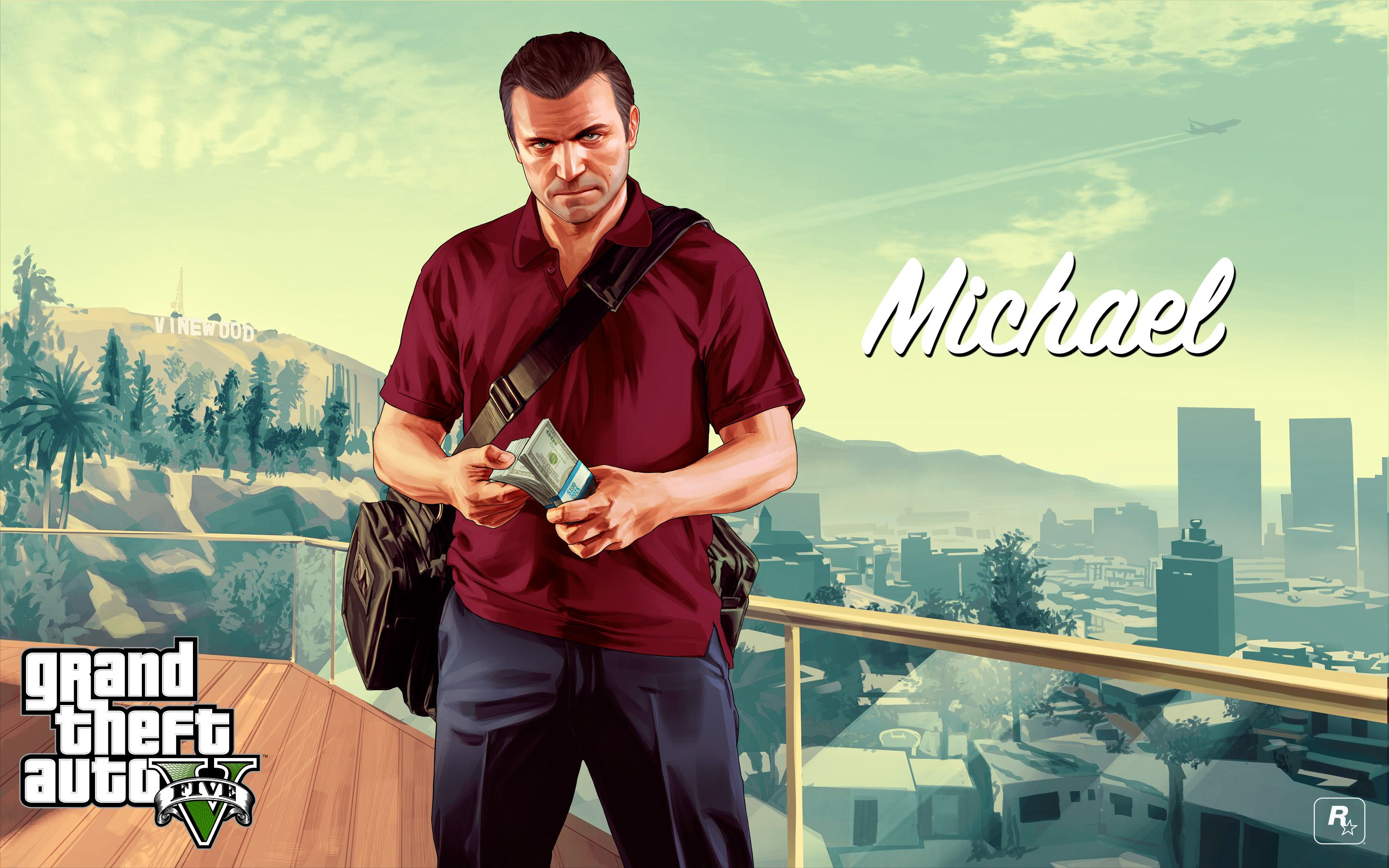 gta 5 artwork michael de santa