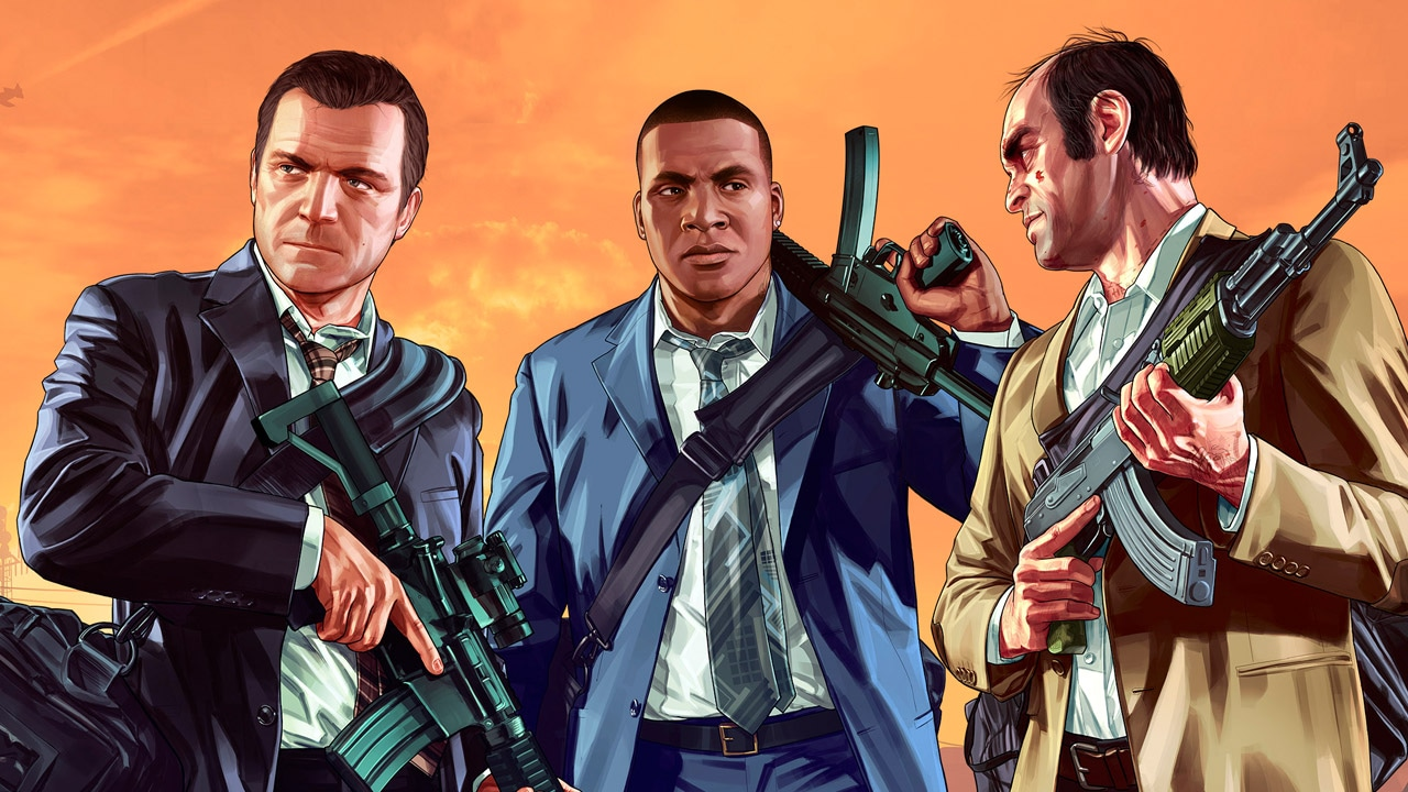 gta 5 character artwork