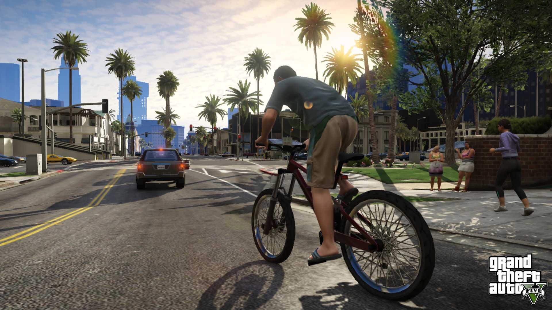 Gta 5 Gameplay Screenshot