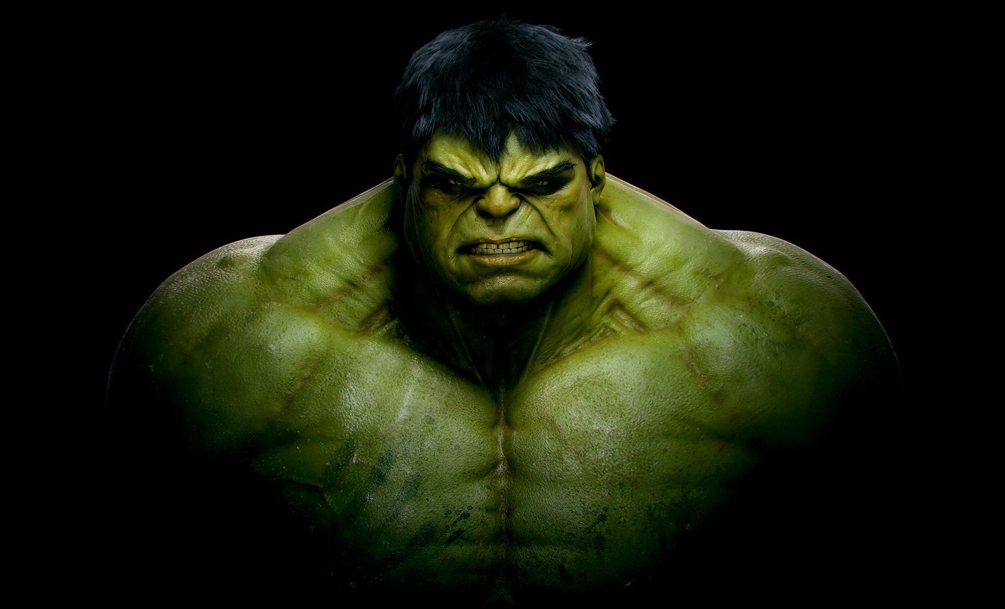 hulk black background