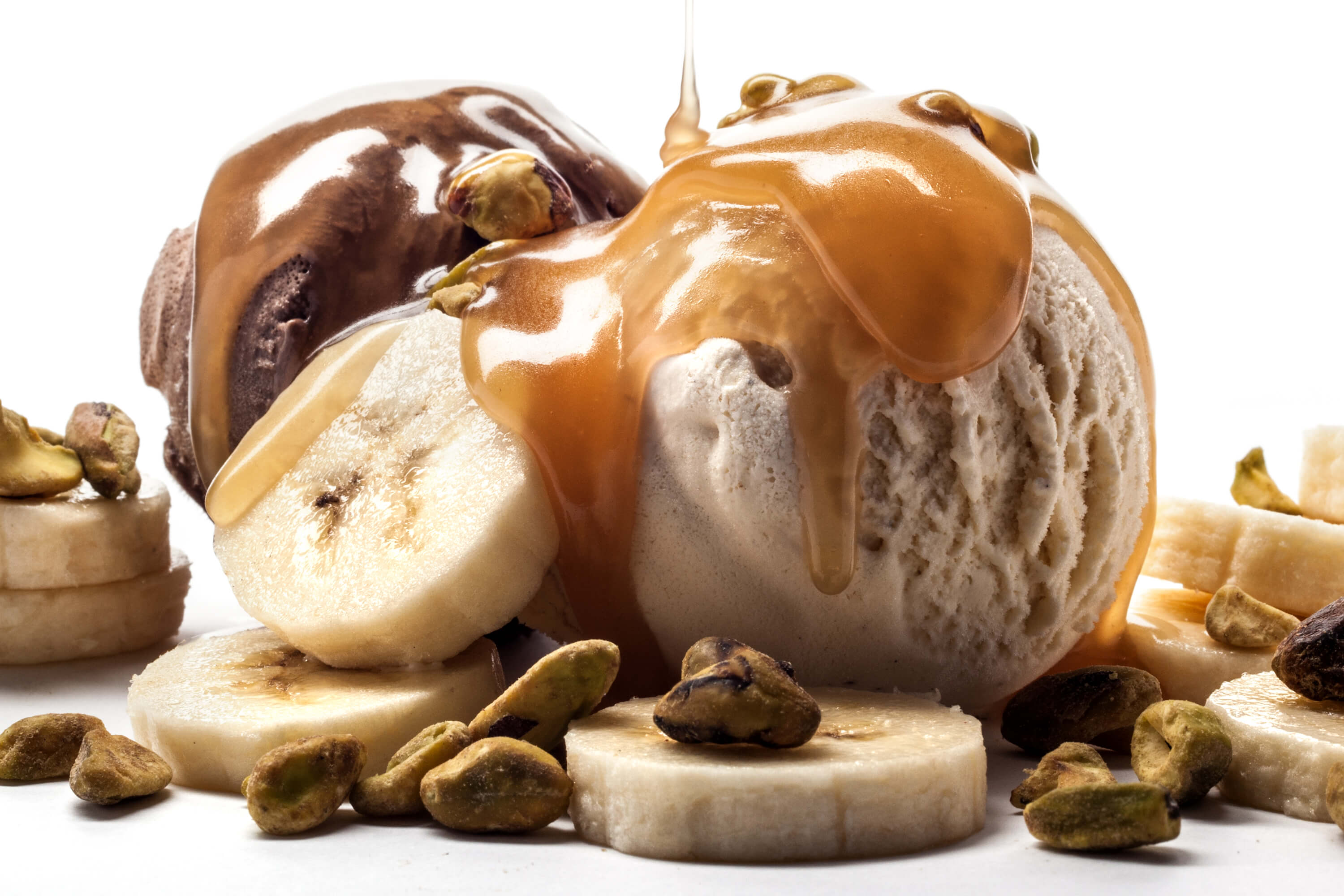 butterscotch ice cream sundae