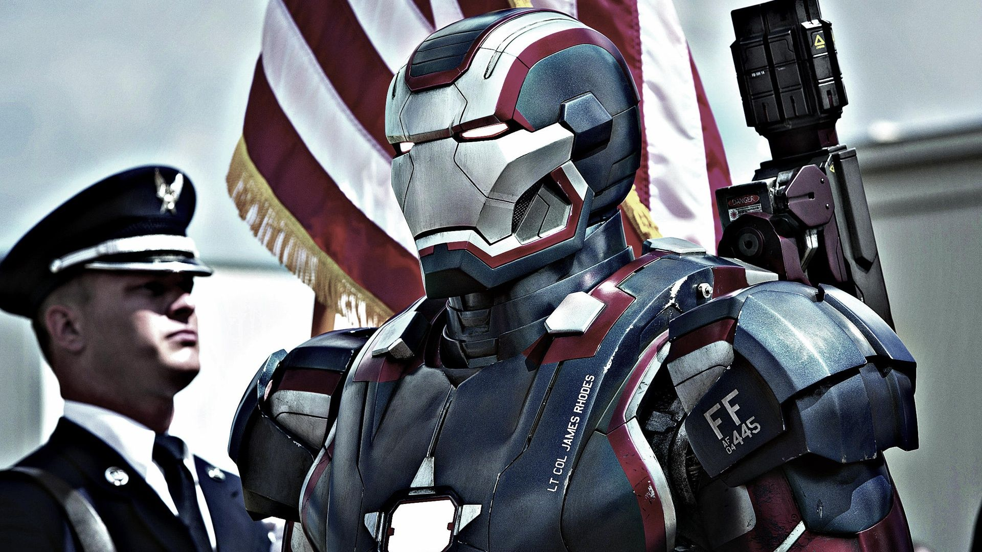 iron patriot in iron man 3 movie