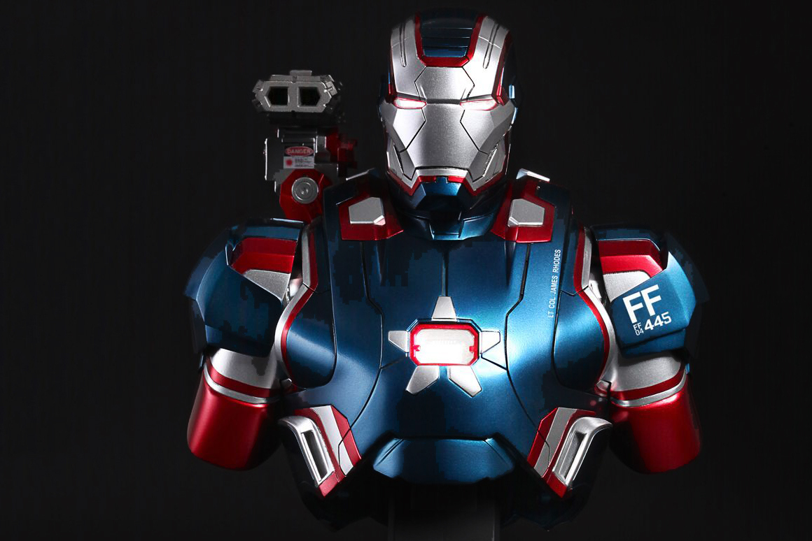 iron patriot marvel toy